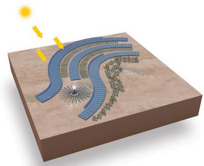 Сахара – плацдарм для построения солнечных электростанций