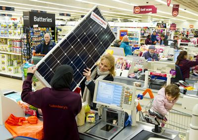 Sainsbury – солнечная энергия из магазина
