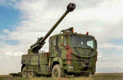 Самоходная артиллерийская установка t-155 yavuz (турция) - «военные действия»