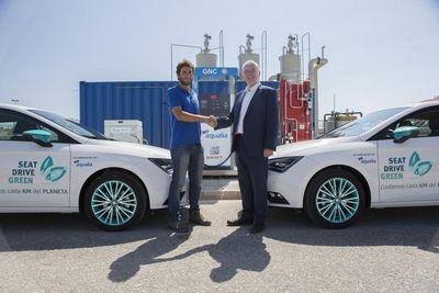 Seat в испании начал производство биотоплива