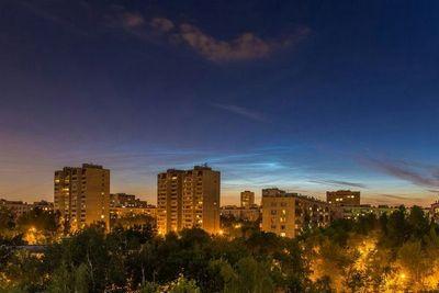 Серебристые облака: атмосфера