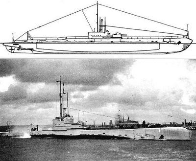 «Серые» годы британских подводных сил