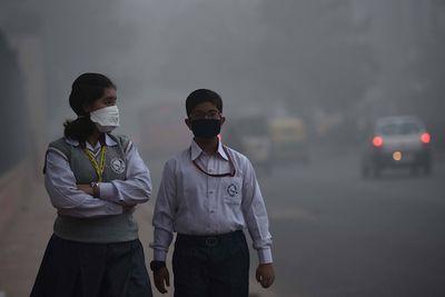 Северная индия превратилась в «газовую камеру»: фотообзор