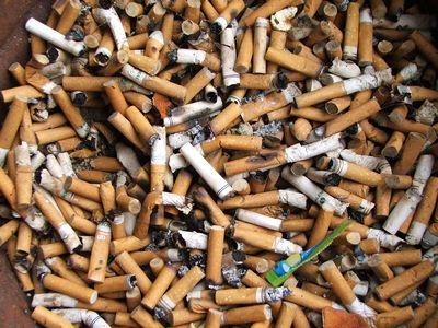 Сигаретные окурки как материал для хранения энергии