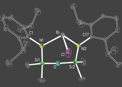 Синтезирован первый стабильный висмут-органический радикал