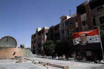Сирийская армия заняла стратегически важный город к югу от дамаска - «военные действия»