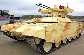 Сирийский вояж «терминатора»: бмпт-72 проходит проверку боем - «новости дня»
