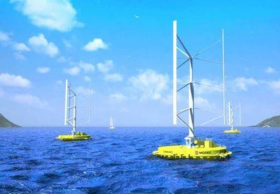 Skwid – турбина, которую вращает и ветер, и течение