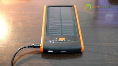 Solar pod - портативная солнечная электростанция