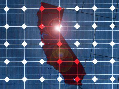 Солнечные рекорды калифорнии