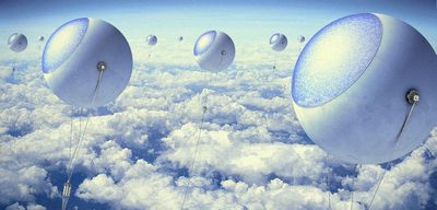 Солнечные воздушные шары могут производить энергию и водород круглосуточно