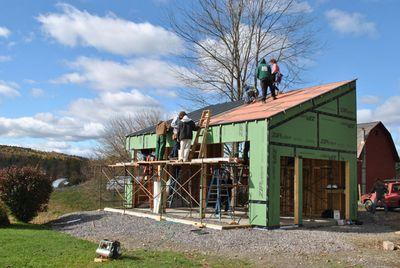 Солнечный гараж - студенческий проект