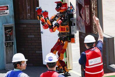 Соревнования человекообразных роботов