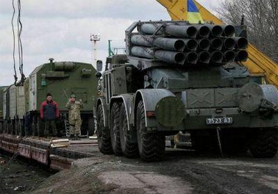 Состав с тяжёлой техникой всу прибыл на станцию в 30 км от донецка - «военные действия»
