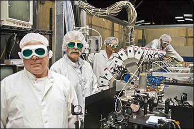 Создано сердце компактного боевого лазера