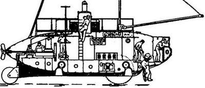 Создатель подводных «колесниц»