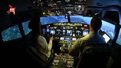 Стюардесса заштурвалом: авиасимулятор