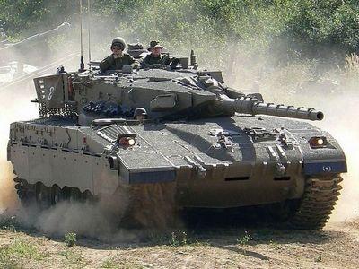Танк «меркава» армии израиля