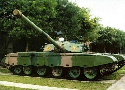 Танк «тип 98» армии китая