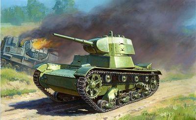 Танк, встретивший войну