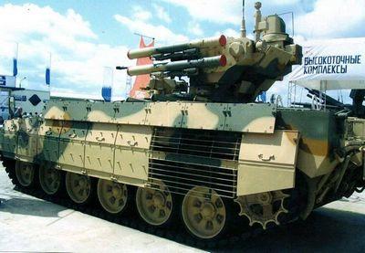 Телохранитель танков «терминатор»