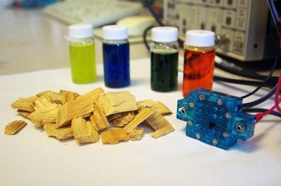Топливные элементы расщепляют биомассу с помощью света или тепла