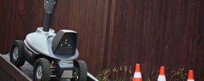 Трал патруль: автономный охранный робот
