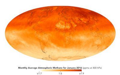 Ученые озадачены странным поведением метана ватмосфере