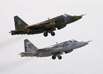 Украинские пилоты штурмовиков учатся сбивать российские истребители - «военные действия»