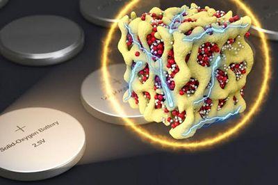 Улучшены эффективность и долговечность литий-воздушных батарей
