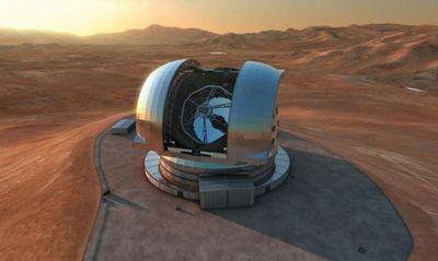 В чили началось строительство супертелескопа