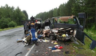 В дтп под красноярском погибли 11 человек