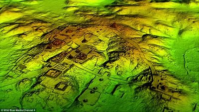 В джунглях нашли древний город майя