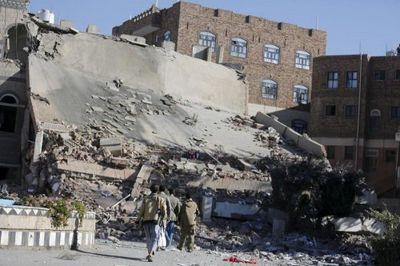 В йемене арабская коалиция уничтожила центр для слепых - «военные действия»