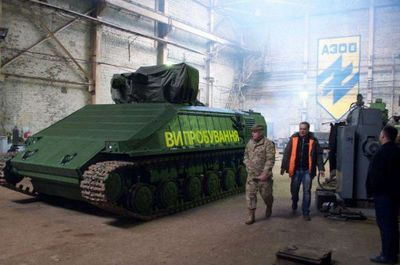 В киеве начались испытания «азовца» - «военные действия»