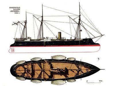 В океане — россия броненосная