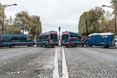 В париже запретили автомобили: фотообзор