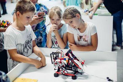 В уфе открылись курсы по робототехнике для детей