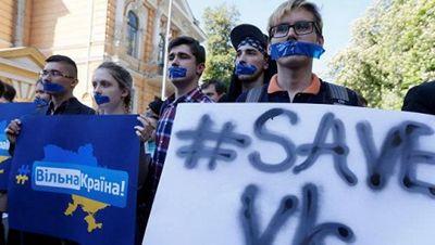 В верховной раде требуют отменить блокировку российских соцсетей - «военные действия»