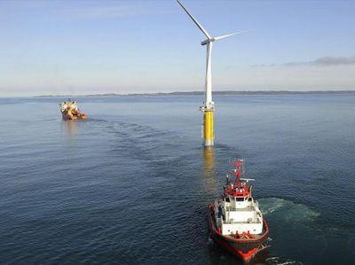 Великобритания и сша совместно разработают плавающую ветровую турбину