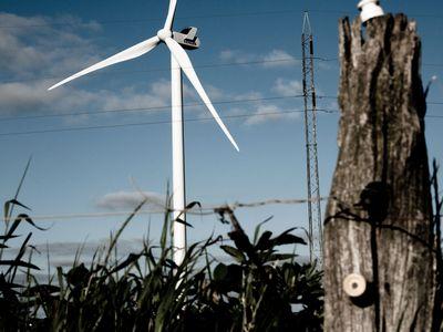 Ветряная турбина ставит новый рекорд производства энергии
