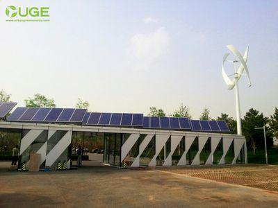 Visionair – вертикальная ветряная турбина для гибридных энергоустановок