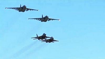 Вкс рф и ввс сирии впервые выполнили совместную боевую задачу в небе - «война»