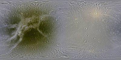 Внаса создали подробные карты ледяных лун сатурна