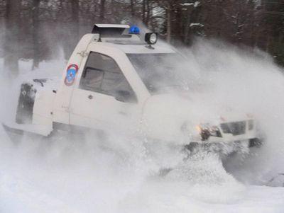 Военный снегомобиль «беркут»