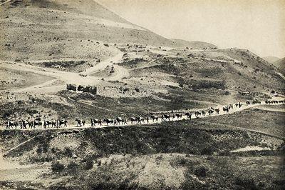 Война в горах и природные явления
