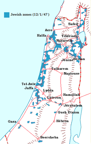 Война за независимость израиля: от плана оон до «плана далет»