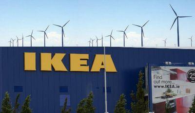 Возобновляемая энергетика компании ikea