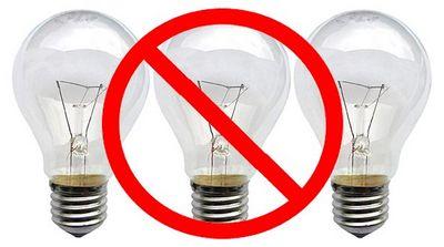 Запрет ламп накаливания в европе