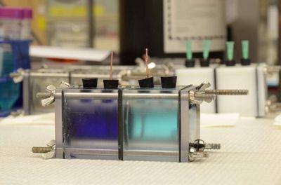 «Зарядка» аммиачных батарей при помощи излишнего тепла
